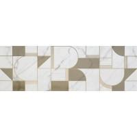 Allmarble wall golden white satin decoro club M8T5
